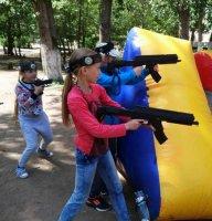 Школьный турнир по лазертагу в Павлодаре